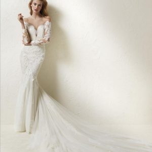 Pronovias Drinea Wedding Dress