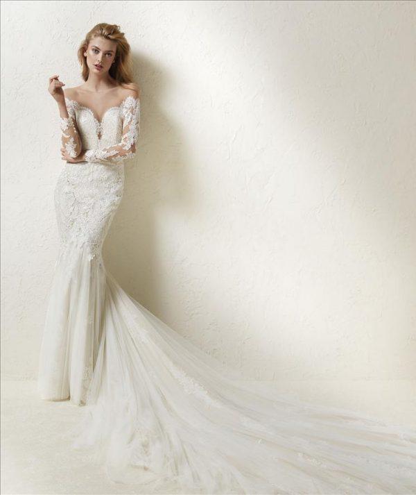 Pronovias Drinea Wedding Dress