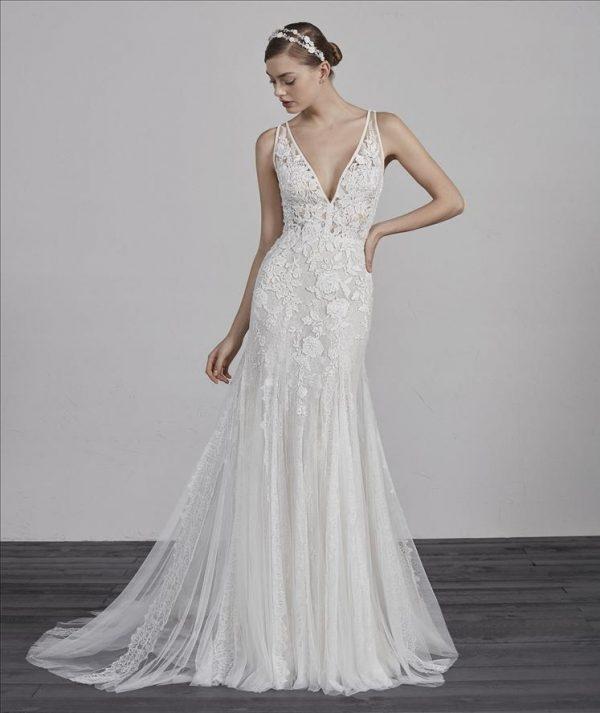 Pronovias Estampa Wedding Dress