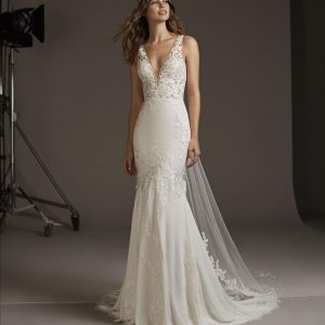 Pronovias Alcyone Wedding Dress