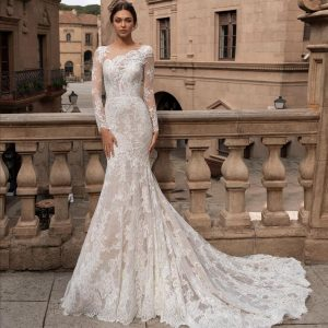 Pronovias Thyone Wedding Dress